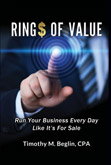 Rings of Value was written Timothy M. Beglin, with book design and marketing Graham Publishing